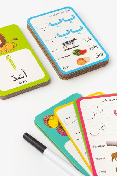 Activity Flash Cards: Arabic Alphabet