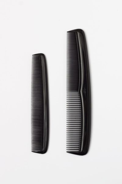 Mens Hair and Beard Combs (2 Pack)