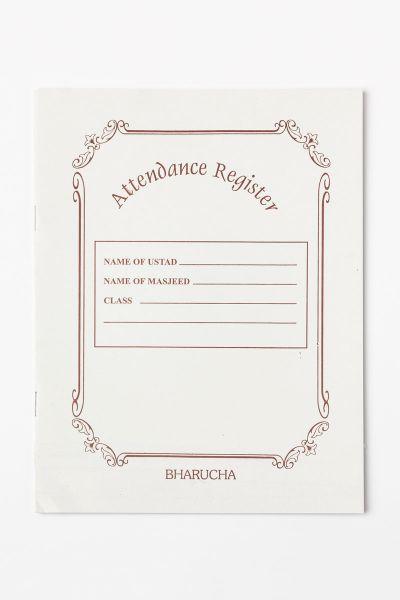 Classroom Attendance Register